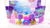 Cra-Z-art Mermaid Sqand Castle Princess Ariels Underwater Sand Cove Toy Crafts for Kids H