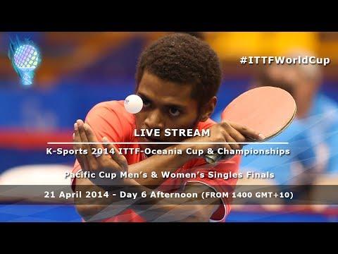 K-Sports 2014 ITTF-Oceania Cup & Championships: Pacific Cup Men's & Women's Singles Finals