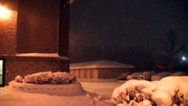 Minnesotas Twin Cities received 10.2 inches of snow today, setting a record for the day !