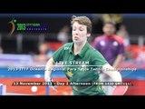 2013 ITTF PTT Oceania Regional Para Table Tennis Championships - Day 1 Afternoon
