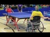 2013 ITTF PTT Oceania Regional Para Table Tennis Championships - Day 2