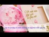 Top 5 quà tặng mẹ ý nghĩa nhất ngày 8 tháng 3