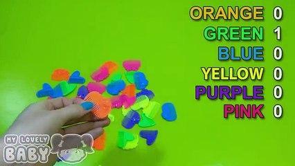Узнайте цвета с Игрушки цвета конкурс и гнездование Яйца