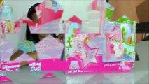 Samantha Glamour Handbag Bed and Suite Playset with Barbie Dolls Frozen Kids Elsas castle