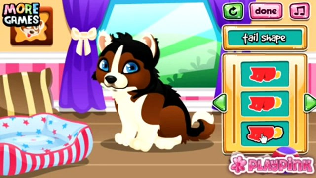 Build Puppys Doghouse - Pet Dog Caring and Dress up Game - Animal Games