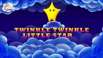 Twinkle Twinkle Little Star 3D Song | Nursery Rhymes Poems For Kids and Toddlers Lyrics Ch