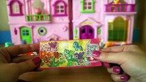 Kinder Sorpresa Mayo little Pony, el desembalaje de los juguetes de sorpresas para las niñas de Kinder Surprise My L