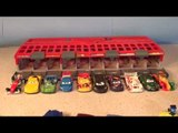 Disney Pixar Cars with WGP Racers with Lightning McQueen with the Race Car Launcher CARS 3