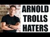 Arnold Schwarzenegger troll hater who called special athletes retard   Oneindia News
