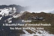 Prashar A Beautiful Place of Himachal Pradesh.