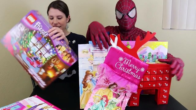 Barbie Advent Calendar Day 22 Disney Frozen Anna Big Hero 6 Legos Shopkins - Toys Kids 201