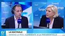 """Marine Le Pen sur son selfie avec un député russe antisémite : """"Je ne le connais pas, je n'ai pas de relations avec lui"""""""