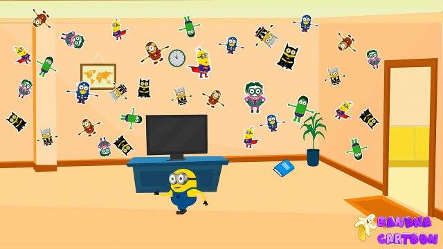Funny Minions Mini Movies 2016 - Minions Banana Home Prank