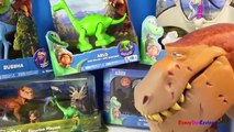 Dino Toys The Good Dinosaur Collection Arlo Butch Thunderclap Bubbha Dinosaurs for kids -