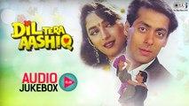 Dil Tera Aashiq Audio Songs Jukebox | Salman Khan, Madhuri Dixit, Nadeem Shravan | Hit Hindi Songs
