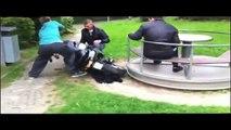 Motorcycle-Powered Merry-Go-Round Fail http://BestDramaTv.Net