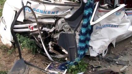 Minibüs Kazası: 1 Ölü, 18 Yaralı