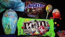Giant Kinder Ovo Gigante Frozen candy M&Ms Choc davd
