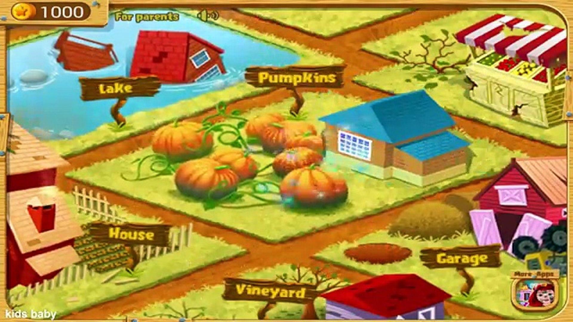 Узнайте о овощи и фрукты для Дети с доктор панда вегетарианец Сад Дети Игры
