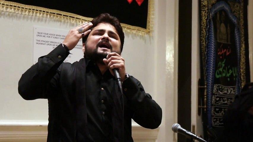 Syed Raza Abbas Zaidi Reciting Manqabat | Kabhi Najaf Se Kabhi Karbala Sy Milti Hy |