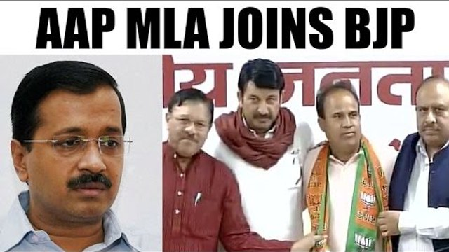 Arvind Kejriwal face setback, AAP MLA Ved Prakash quits party, joins BJP | Oneindia News
