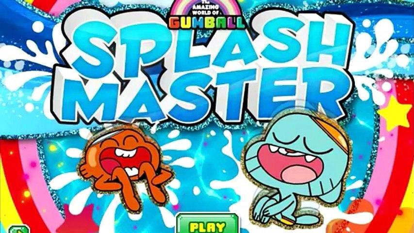 El Increíble Mundo De Gumball Splash Master De Cartoon Network En Los Juegos