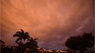 Cyclone Debbie Bears Down On Australia