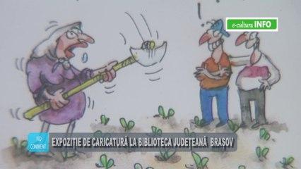 Expozitie de caricatura la Biblioteca Judeteana George Baritiu Brasov