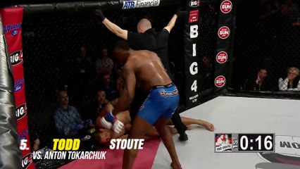 Top 5 MMA Finishes of the Day