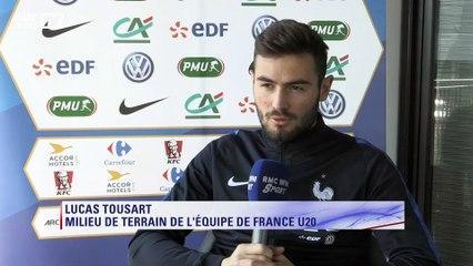 maillot entrainement OL Lucas TOUSART