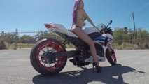 Hot Bike Model - Heather Lee