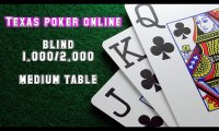 Video cara bermain texas poker online - medium table blind 1.000-2.000