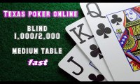 Video cara bermain texas poker online - medium table fast blind 1.000-2.000