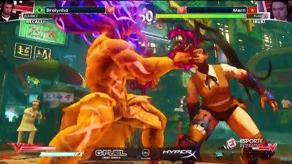 Já classificado, Brolynho dá mais um show e se vence mais uma na ELEAGUE Street Fighter V