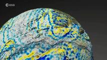 La ESA cree que el impacto de un asteroide modificó el campo magnético de la Tierra