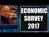 Budget 2017: Arun Jaitley tables Economic Survey Oneindia News