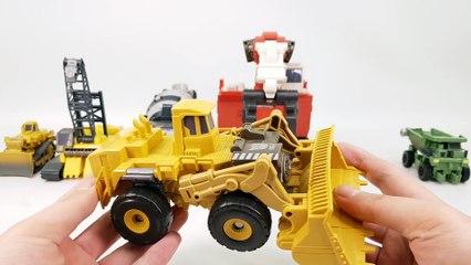 Transformers Movie 2 ROTF Supreme Construction Devastator 6 Vehicle Combine Robot Car Toys
