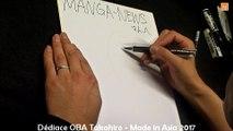 Dédicace ÔBA Takahiro - dessinateur sur Sky High Survival - manga