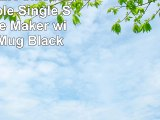 BLACKDECKER CM625B Programmable Single Serve Coffee Maker with Travel Mug Black