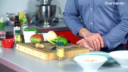 SALADE THAI: fenouil, mangue et crevettes !