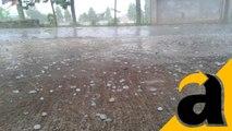Hujan Es Yang Terjadi di Jakarta