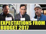 Union Budget 2017: Here's what common man expected; Watch Public Opinion | Oneindia News