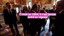 Quand François Hollande blague au sujet des costumes de François Fillon
