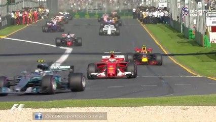 2017 Avustralya GP özet görüntüleri
