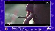 Bernard de la Villardière fume un joint dans son émission Dossier Tabou