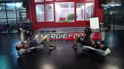 J'ai testé le BODY PUMP chez Energie Forme !
