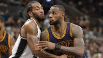 LEBRON JAMES OUT WITH NECK INJURY! Kawhi Leonard WHOOPS the CAVS