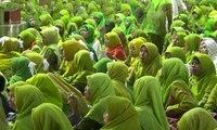 Ribuan Kader Peringati Hari Lahir Muslimat NU ke-71
