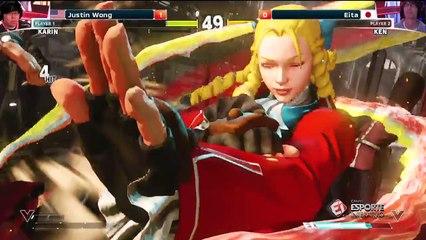 VIRADA ESPETACULAR! Justin Wong e Eita protagonizam uma disputa incrível na ELEAGUE Street Fighter V