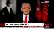 """CHP Genel Başkanı Kemal Kılıçdaroğlu: """" Cumhurbaşkanının 'Hayır' Çadırını Ziyaret Etmesi Güzel Bir..."""